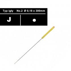 Nadel J2 / 0,18 für...