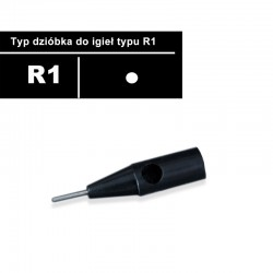 Needle tip R1 with a metal...